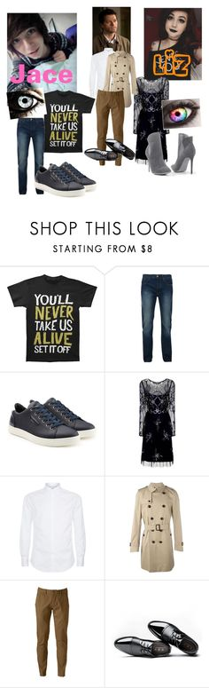 """""""Castiel's Family Day"""" by ncis-lover-dinozzo ❤ liked on Polyvore featuring Bellfield, Dolce&Gabbana, Frock and Frill, Brunello Cucinelli, Burberry, Hollywood the Jean People and Venus"""