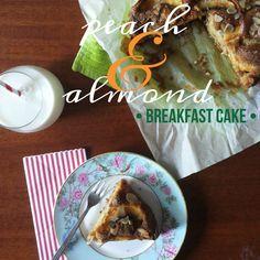 Tè verde e pasticcini: { Cakes } - Torta con pesche e farina di mandorle senza burro