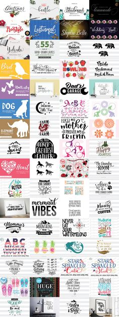 The third instalment of our Craftalicious Bundle series is here! Including 64 items in total this monster pack is sure to have a little something for everyone. All fonts and graphics are 100% accessible onCricut,Silhouette, SCAL as well as many other craft based machines and programs. As always thisbundle comes with our Complete License, whichallows you to use the products included within this pack for a wide range of commercial activities. Including on printed products, that are…