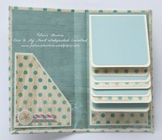 CTMH Seaside Capers mini waterfall album