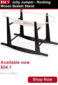 Moses Baskets: Jolly Jumper - Rocking Moses Basket Stand BUY IT NOW ONLY: $54.1