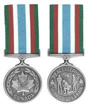 Canadian military decorations and medals CPSM - from Bosnia Op Palladium 2000