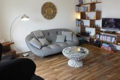 001 Perfect location for Tenby Arts Festival Seaside Village, Seaside Towns, North Beach, Holiday Apartments, Art Festival, Second Floor, Accent Chairs, Flooring, Modern