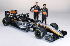 Force India's 2015 F1 livery | Looks great, just like the old West sponsored McLaren's.
