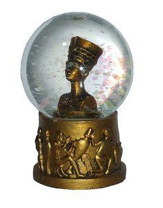 Nefertiti snow globe
