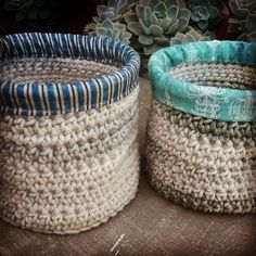 elzavan912 crochet baskets