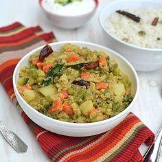 Goan Mixed Vegetable Curry