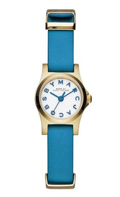 Marc by Marc Jacobs Henry Dinky watch in Blueglow