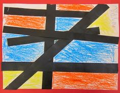 Art is Basic-- Art Teacher Blog: Mondrian-- Primary Colors lesson plan-- Kindergarten