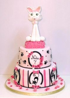 cake cat by elisabethcake