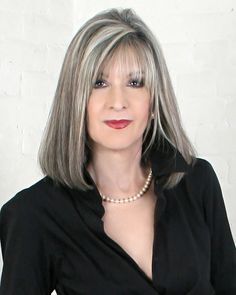 Getting older should be about self-acceptance. // The Silver Fox, Stunning Gray Hair Styles