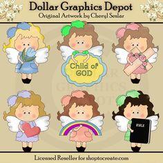 Сладкие Ангелы - христианской жизни - по темам - $ 1.00: доллар Графика Депо, Качество Графика ~ Скидочные цены