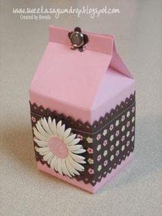 Mini Milk Carton