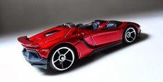 Lamborghini Aventador J - Hot Wheels