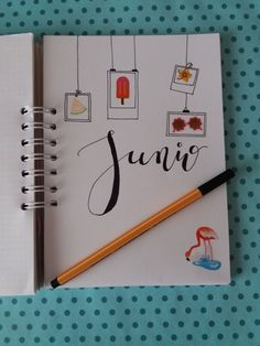 Bullet Journal Junio