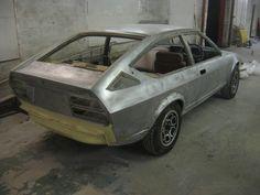 Alfa Romeo Alfetta GTV, that's what you call a solid shell