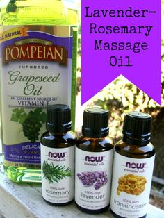 lavender rosemary massage oil- this offers amazing pain relief for fibromyalgia, lupus or anyone else experiencing chronic pain