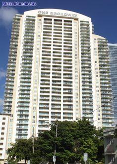 One Broadway Luxury Apartments In The Brickell/Downtown Miami area.    #Brickell #MiamiRealEstate #DowntownMiami