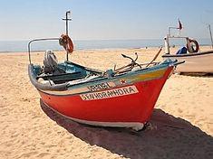 Barcos na areia - Praia de Altura - Algarve - Portugal