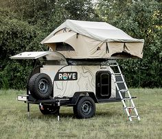 Rove Adventure Trailer Rentals per night added onto outdoor gear, camper, camping, rent, Used Camping Gear, Off Road Camping, Camping World, Camping Tips, Camping Style, Camping Survival, Survival Gear, Jeep Camping, Camp Gear