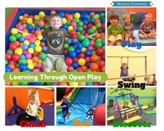 Run, Jump, Play: The Benefits of Open Play Sessions an article by Mommy University