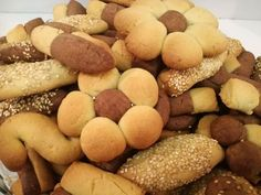 Greek Sweets, Greek Desserts, Greek Recipes, Cheese Pies, Sweets Cake, Pretzel Bites, Biscuits, Food And Drink, Cooking Recipes
