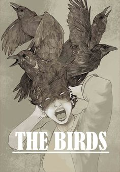 The Birds - movie poster - KePafrenico.deviantart.com