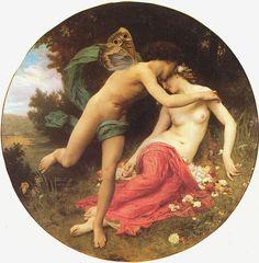 Flora und Zephyr (William Adolphe Bouguereau, 1875) ▓█▓▒░▒▓█▓▒░▒▓█▓▒░▒▓█▓ Gaby-Féerie : ses bijoux à thèmes ➜ http://www.alittlemarket.com/boutique/gaby_feerie-132444.html ▓█▓▒░▒▓█▓▒░▒▓█▓▒░▒▓█▓