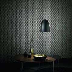 Erismann Brix 2 Wallpaper Charcoal (6942-15)