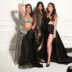 Kareena Kapoor Khan and Sonam Kapoor look smoking hot as they pose for a special photo shoot for Veere Di Wedding with Rhea Kapoor!…
