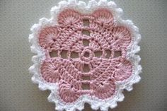 Hearts Around Doily By Terri Kroupa - Free Crochet Pattern - (ravelry)