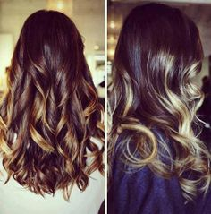 nuove tendenze colore capelli 2014 shatush naturale