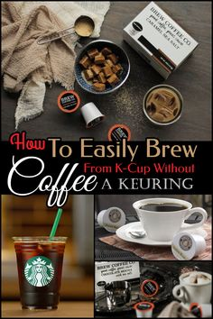 can you open k cups and use in regular coffee maker, can you use k cups in a regular coffee maker, can you open a keurig cup and use it, how to use k cups without a keurig, how to use a k cup without a keurig, how to use a k cup without keurig, use k cup without machine, using a k cup without a keurig, use keurig cups without machine, can you put k cups in a regular coffee maker, use k cups without keurig, how to use a k cup without a machine Coffee Pods, Coffee Beans, Best Espresso Machine, Best Coffee Maker, How To Order Coffee, Coffee Date, Coffee Branding, K Cups, Blended Coffee
