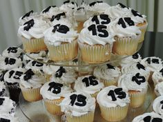 #Events #Birthday  #Outdoor #Venue #Multiplicity #Cupcake #Display #Decorations #15 #sweet