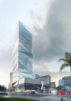 HENN Wins Competition to Design Wenzhou High-Rise,© HENN