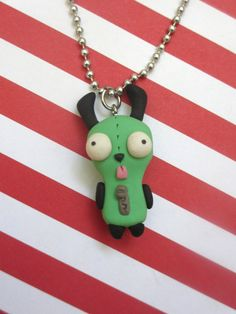 GIR Necklace by rudeandreckless on Etsy, $18.00