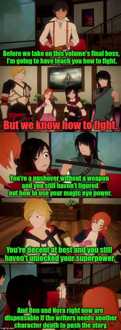 Ozpin: You're good fighters, but right now I need great fighters. | RWBY | Know Your Meme