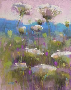 Painting my World: Painting a Meadow...New Series