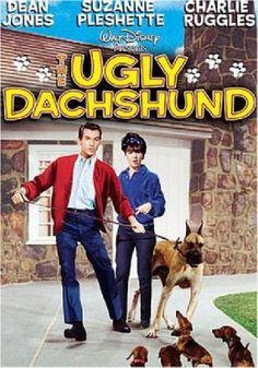 1966 - The Ugly Dachshund |  Quattro bassotti per un danese -   Un film di Norman Tokar. Con Dean Jones, Suzanne Pleshette, Charlie Ruggles Titolo originale The Ugly Dachshund. Commedia, durata 93' min. - USA 1966