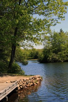 Dunn Pond State park in Gardner, Massachusetts