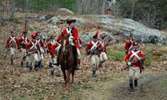 """bantarleton: """" British light infantry deploying. """" Light infantry, acting in their role as skirmishers, were extremely effective against American militia on April 19, 1775. The very existence of the light infantry (in use since the French & Indian..."""