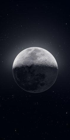 Moon wallpaper, falco asblor
