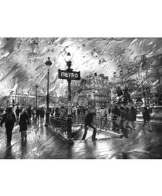 PARIS CON LLUVIA / M. De la Torre