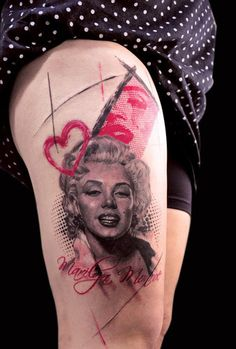 Marilyn Monroe : Marilyn Monroe    premiada ¨melhor do evento¨ na 2° Tattoo Art Festival em sao bernardo do campo  vlw a todos q compareceram no evento,  organizadosres, amigos e a minha querida esposa Luana       Wiliam Nascimento   wiliamtattoo