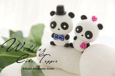 Panda Wedding Cake Topper   www.etsy.com/listing/62752922/ca…   Flickr