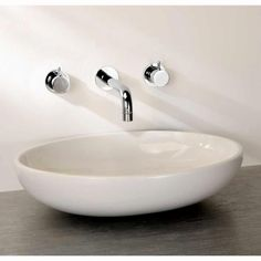Finwood Designs Thin Ovale Countertop Wash Bowl
