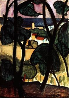 Matisse View Of Collioure (1908)