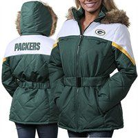 Green Bay Packers Ladies The Looker Full Zip Jacket