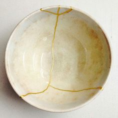 """1,453 Likes, 7 Comments - @love_ceramic on Instagram: """"@Regranned from @kintsugi_class_ny - Bowl #student #work #advanced #kintsugiclass #NY #kintsugi…"""""""