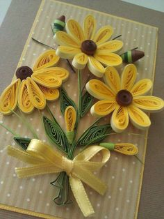 Quilling for beginners qui - Quilling Birthday Cards, Paper Quilling Cards, Paper Quilling Tutorial, Paper Quilling Flowers, Paper Quilling Patterns, Origami And Quilling, Quilled Paper Art, Neli Quilling, Quilling Craft